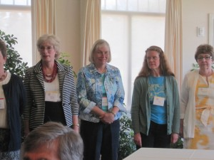 L to R: 2013 - 14 Board Members Wendy Blanchard, Meredith Kusch, Ellen Lane