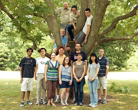 Lab group in 2012