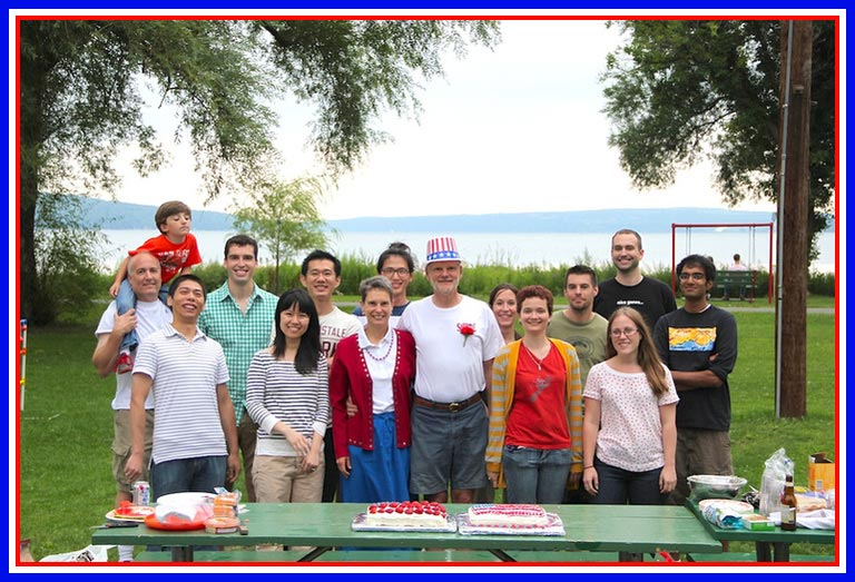 Celebrating a new US Citizen – August 2013