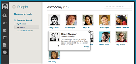 Profile page screenshot