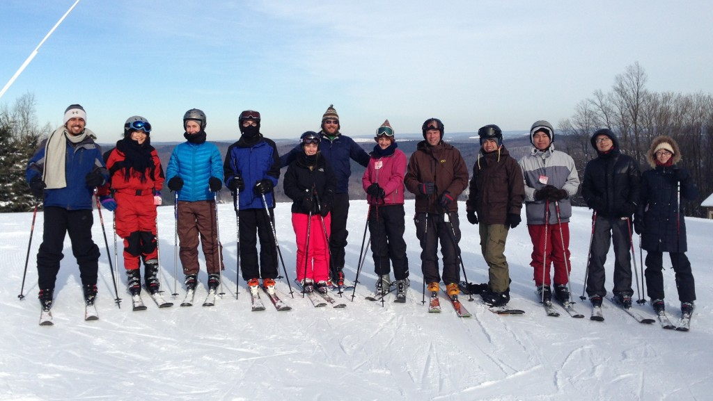 group picture- ski trip