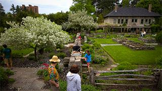 Robison York State Herb Garden at Cornell Plantations.