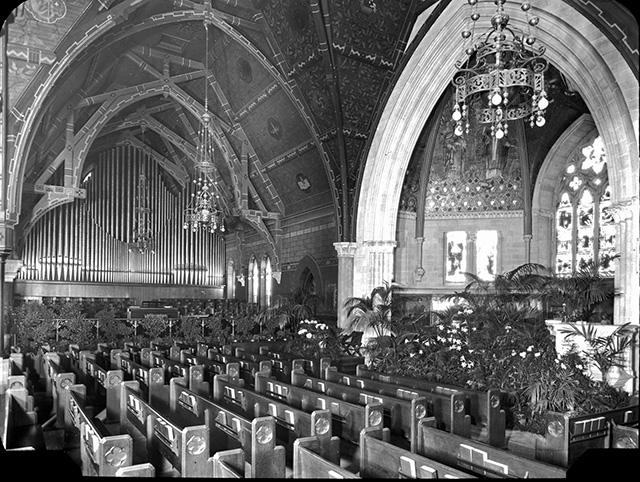sage chapel easter 1923