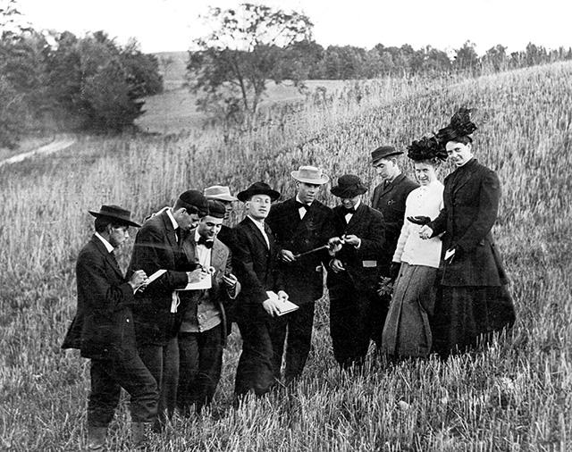 soils lab 1907