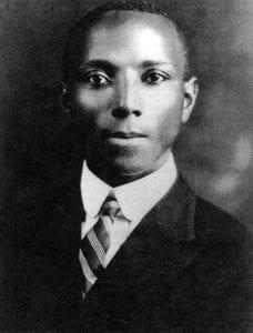 Thomas Turner's 1901 graduation portrait from Howard University.