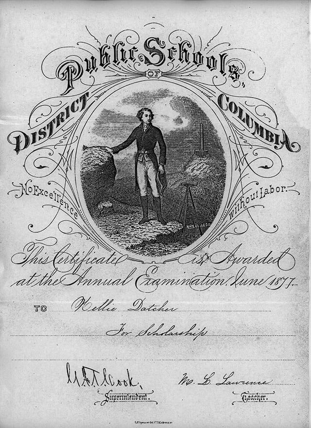 public school certificate