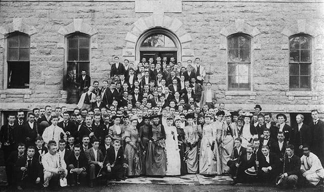 1890 graduation