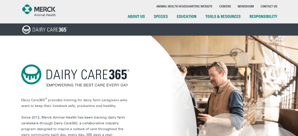 Merck Dairy Care 365