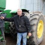 Crop farmer Brian Andrews