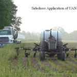 sidedress application of UAN