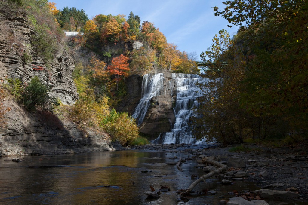 Ithaca Falls on Fall Creek Jason Koski/University Photography