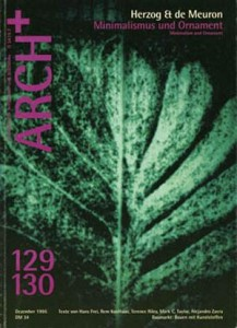 ARCH-12-1995-Herzog-de-Meuron-Minimalismus-und-Ornament