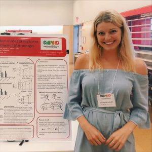Sophie Reynolds, CIHMID URE student 2019
