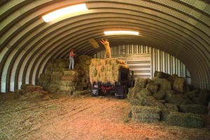 Worked storing Hay