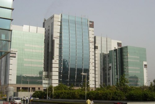 One of the properties in DLF Cyber City, previously managed by Tuschar. (photo source Wikipedia)
