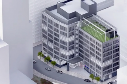 Collegiate School Expansion, rendering by Gluck+ (Source: New York YIMBY)