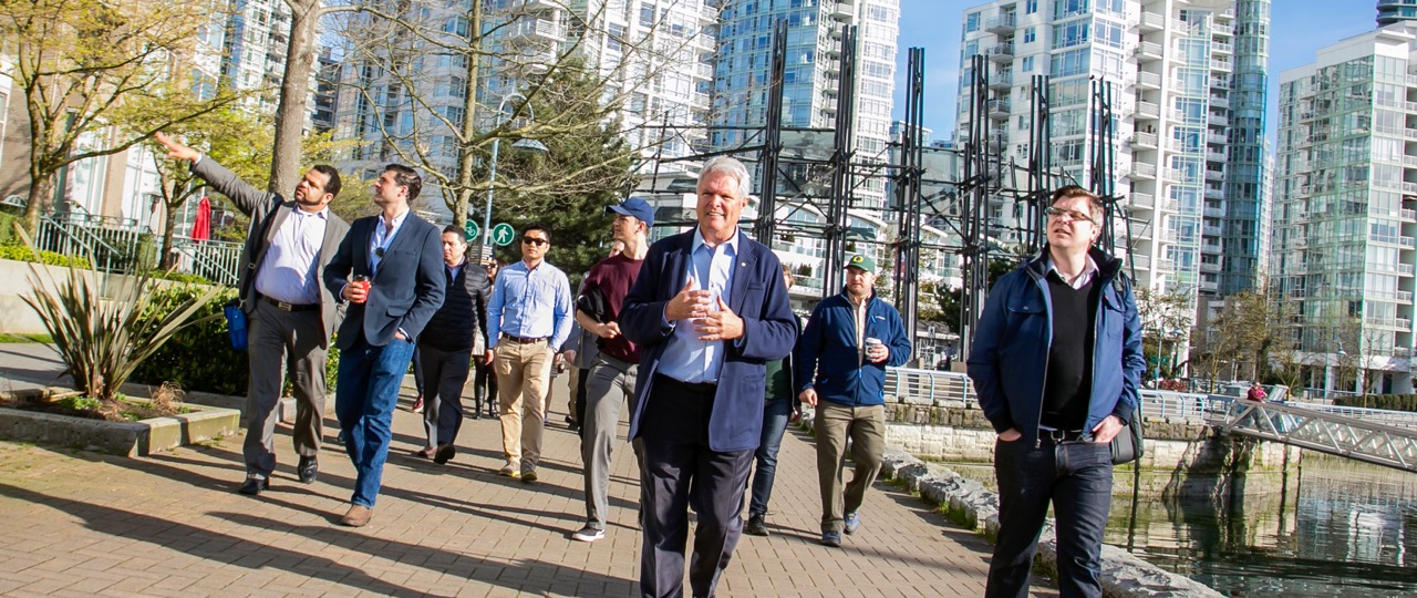 Connecting a City to the Water: Baker Program's Inaugural Trip to Vancouver, Part One