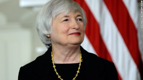 Federal Resever Chair - Janet Yellen