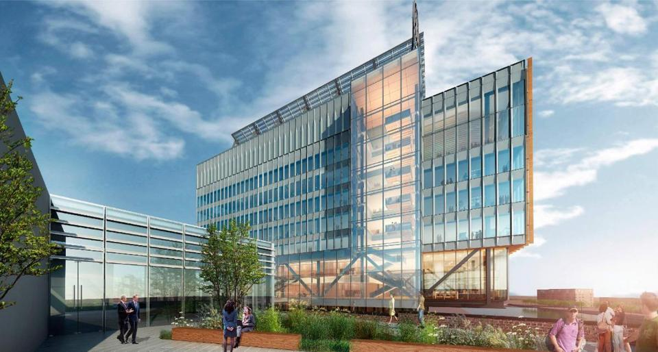 Rendering of GE's New Headquarters in Boston, MA