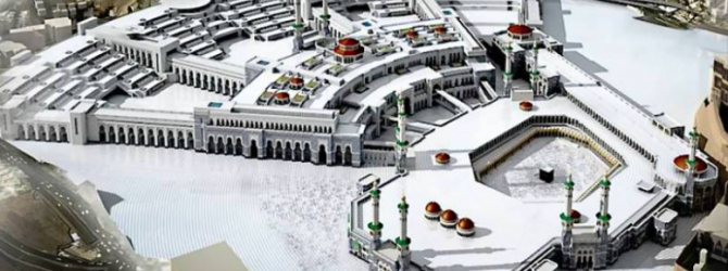 Grand Mosque Expansion Highlights Growth of Saudi Arabian