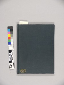Cloth binding added by a commercial binder, probably in the 20th century.