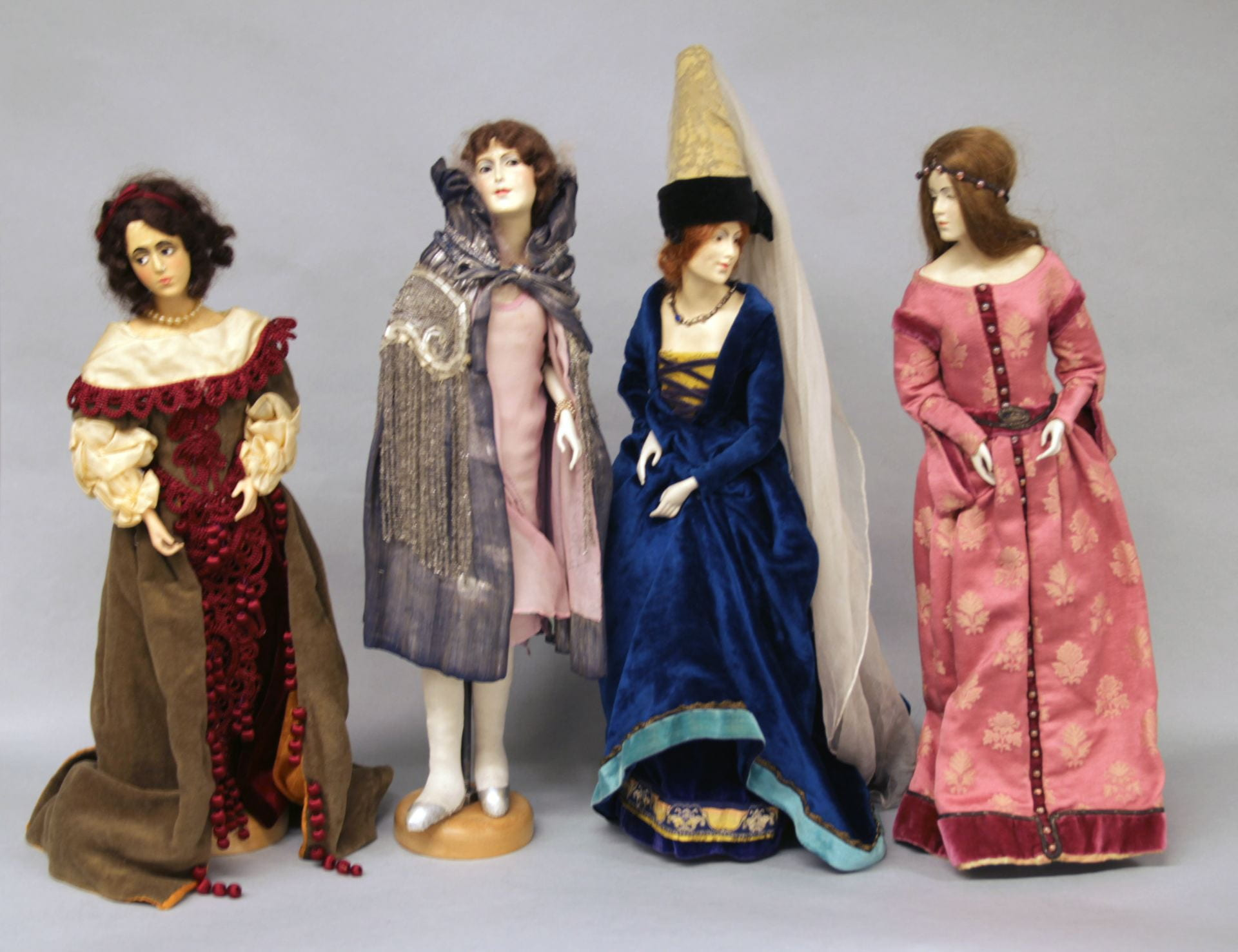 A selection of dolls from the Dora Erway Doll Collection