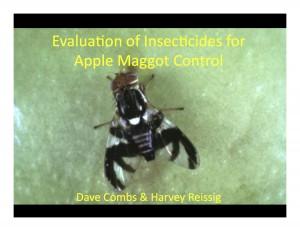 Apple Maggot presentation. Harvey Reissig 2010