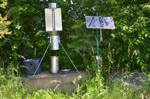 Remote Black Light Trap for BMSB Survey