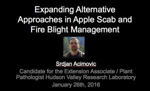 Dr. Srdjan Acimovic presentation Slide