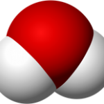 A WATER MOLECULE