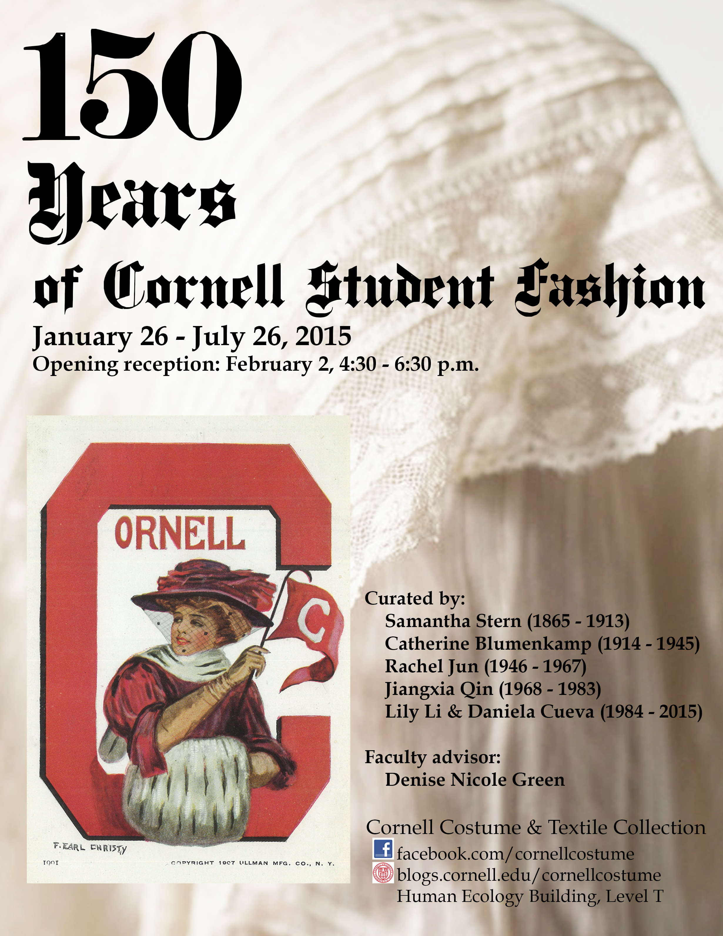 Invitation to Opening Reception 150 Years of Cornell Student