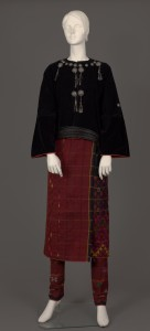 CCTC #2532, Burmese costume collected by Miss Charity Carman in the early 1930s.