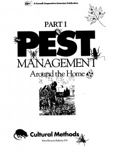 Pest management cover