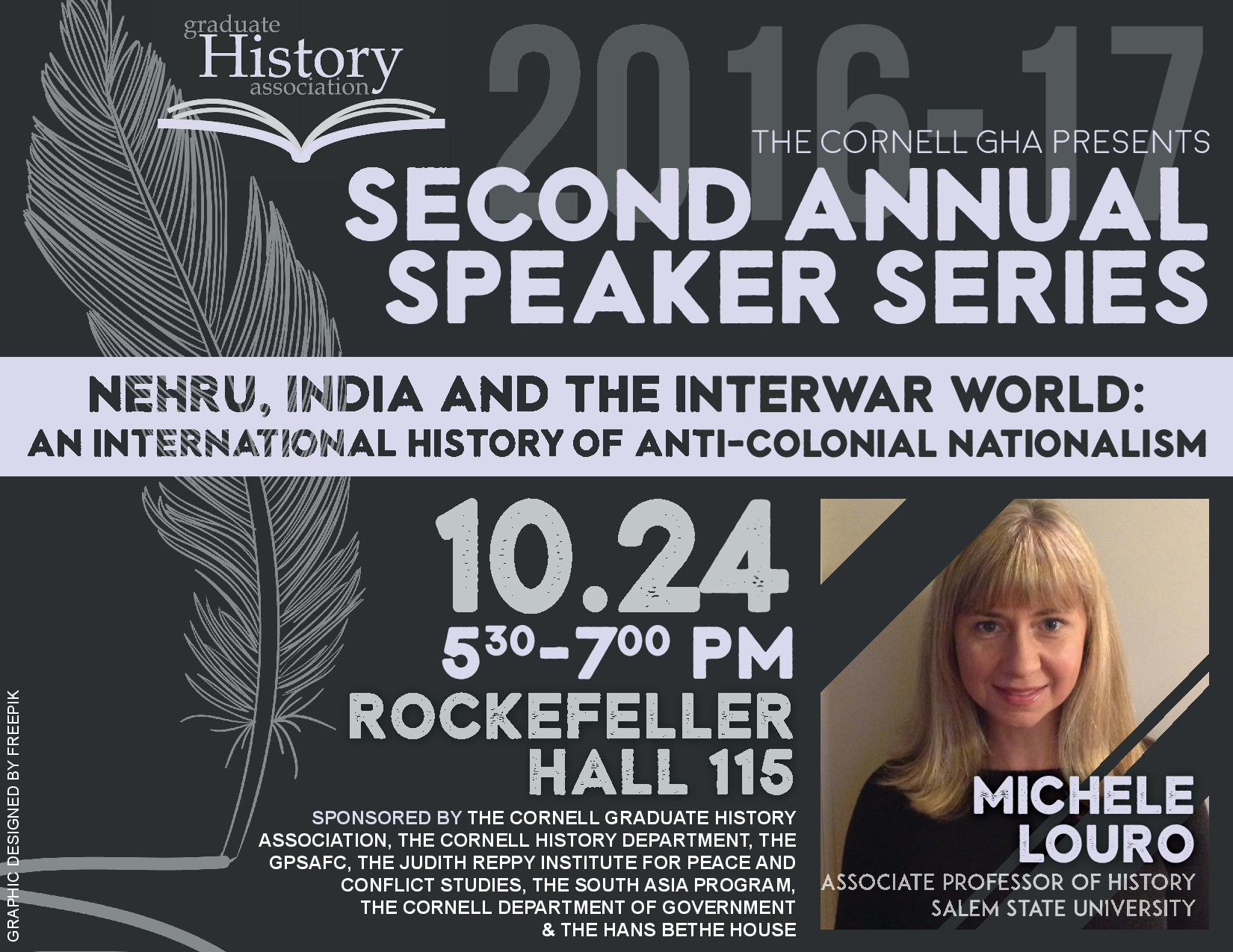 Michele Louro : Second Annual GHA Speaker Series