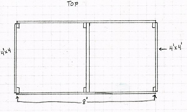 Self-feeder top drawing
