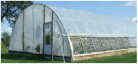 Hoophouse or Quonset Style High Tunnel: