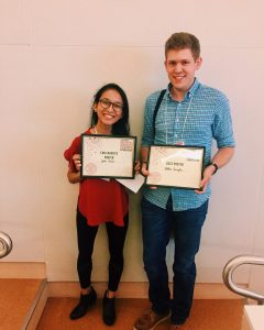 Tabilas and Cybelle win poster awards