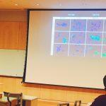 Karen Barnard presents her research