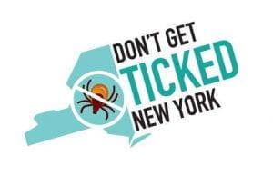 Don't Get Ticked NY Logo