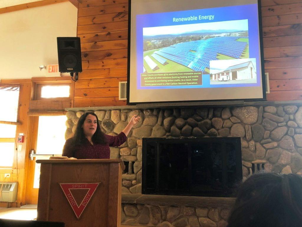 Amanda LaValle presents about Community Action Goals