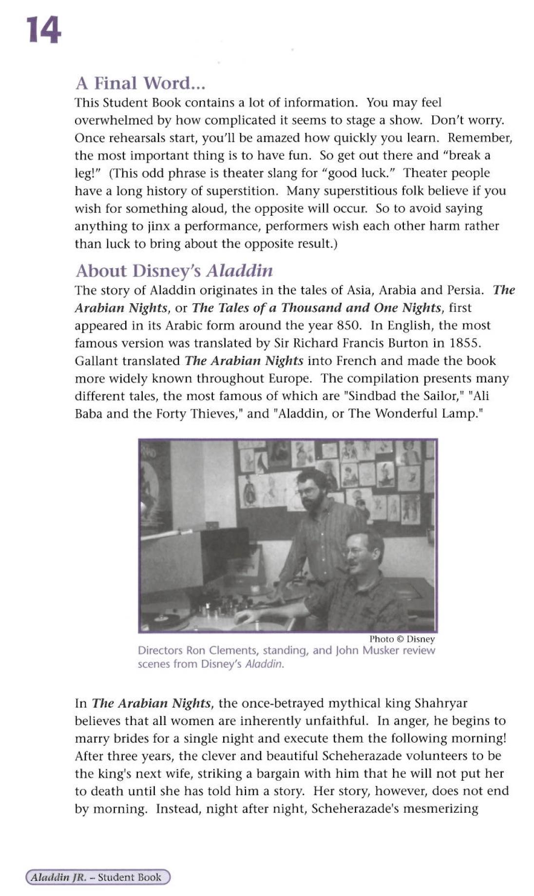 About Aladdin