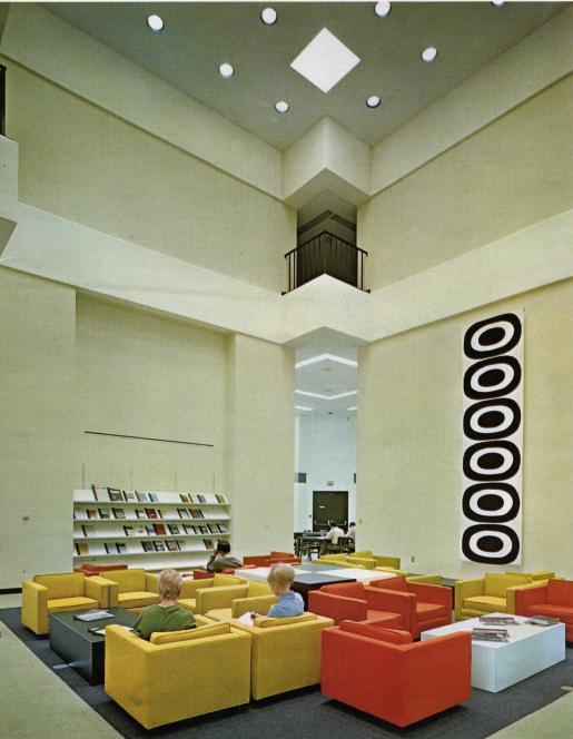 2nd Floor Atrium in the 1970's