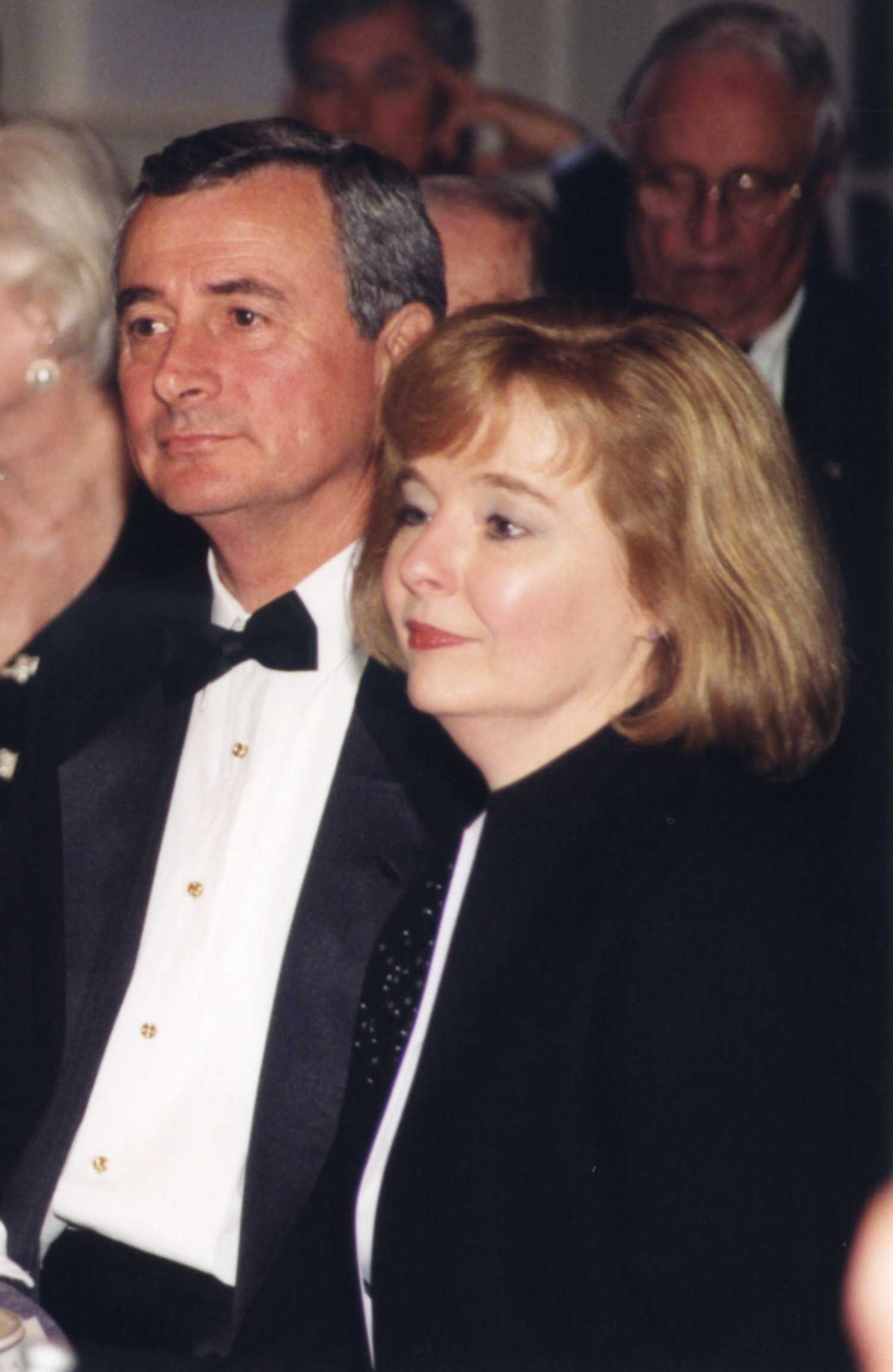 Dr. Tony Zeiss and his wife, Beth.