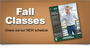 Fall CCE Registration