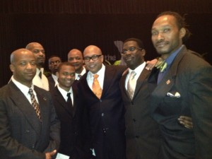 MAN UP at MLK Breakfast
