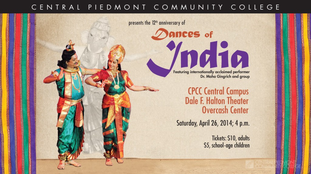 Dances of India 2014 at CPCC