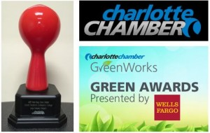 Wells Fargo Green award