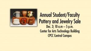 2015 pottery sale