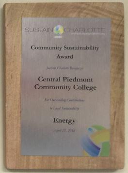 Sustain Charlotte Award