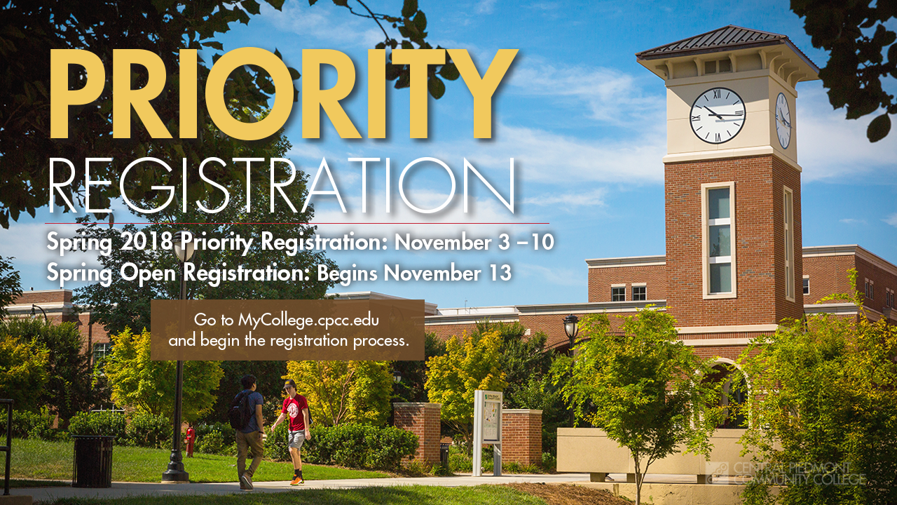 Fall 2017 Priority Registration